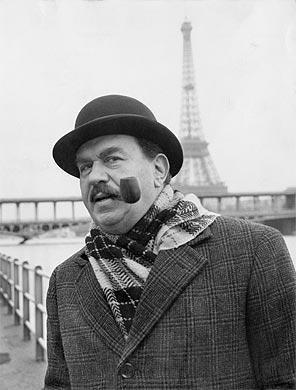 Gino Cervi nei panni di Maigret