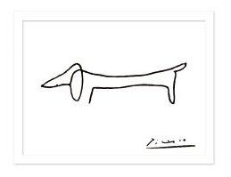 Picasso - bassotto