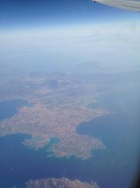 Volando sulla Grecia (foto aerea)
